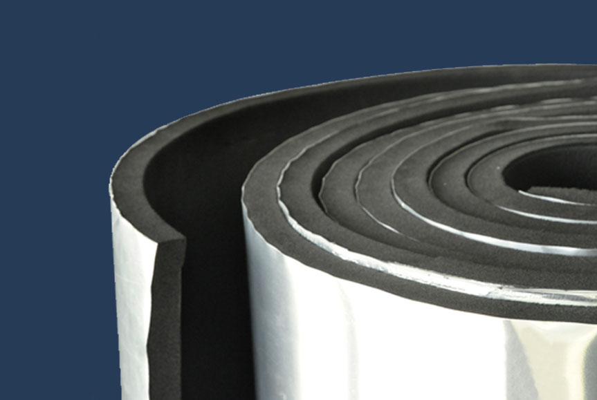 Flexicell Flexible Elastomeric Thermal Insulation Clad